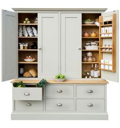 Super Ideas Kitchen Pantry Free Standing Larder Cupboard Super Ideas Kitchen Pantry Free Standing Larder Cupboard - Own Kitchen Pantry Kitchen Larder Cupboard, Kitchen Pantry Design, Kitchen Redo, Home Decor Kitchen, Country Kitchen, Kitchen Furniture, Kitchen Storage, Home Kitchens, Kitchen Dining