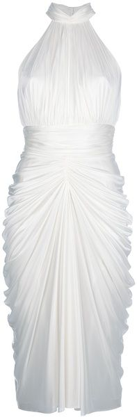 Marilyn Halter Dress -  MARILYN MONROE DRESS BY ALEXANDER MCQUEEN