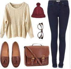 Seek vintage outfit..kinda cute fall outfit
