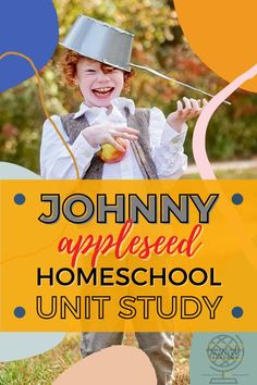 Johnny Appleseed Unit Study and Activities #johnnyappleseed #unitstudy #homeschool #unitstudies Homeschool Curriculum Reviews, Homeschool Books, Homeschool Kindergarten, Johnny Appleseed, Unit Studies, Character Education, Teaching History, Lessons Learned, Super Simple
