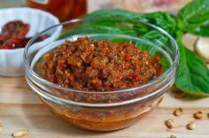 In Fine Fettle: Sun Dried Tomato Pesto Dipping Sauce