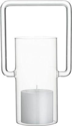 glass lantern  | CB2