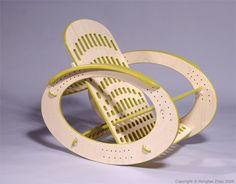 rocking chair by Hongtao Zhou