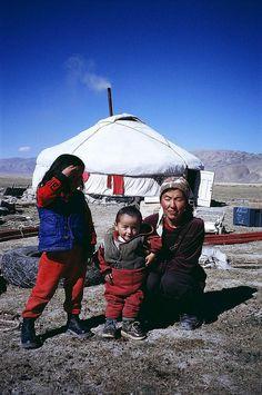 Mother & Children - Western Mongolia