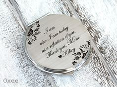 Hey, I found this really awesome Etsy listing at https://www.etsy.com/listing/508708025/personalized-engraved-pocket-mirror