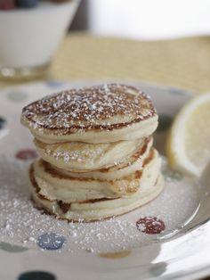 Lemon Ricotta Pancakes - Debra Ponzek