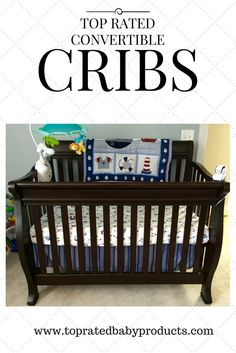 Find our exclusive list of top rated cribs with pros & cons for each model!