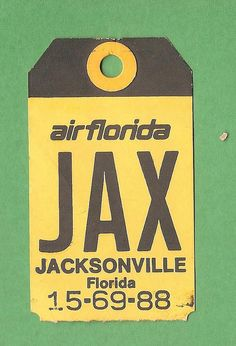 flickr collection of vintage airline baggage tags