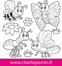 Royalty free clip art illustration of a black and white dragonfly. This royalty-free cartoon styled clip art picture is available as a fine art print and poster. Clipart of a Black and White Dragonfly - Royalty Free Vector Illustration by visekart Insect Coloring Pages, Butterfly Coloring Page, Animal Coloring Pages, Coloring Book Pages, Coloring Pages For Kids, Insect Crafts, Free Adult Coloring, Clip Art Pictures, Stock Pictures