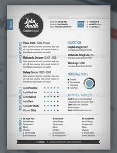here well showcase more than 30 resume templates with a wide variety of different styles youll find simple designs as well as more adventurous designs - Free Design Resume Templates