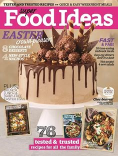 @superfoodideas #magazines #covers #april #2017 #recipes #food #trusted #tried #family #meals #plan #fast #easy #ideas