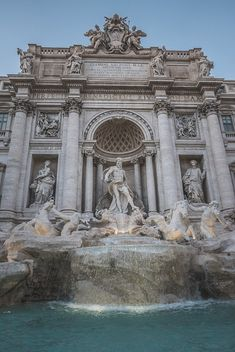 "- List of Top Rome Landmarks to help you experience Italy Visiting Rome? - List of Top Rome Landmarks to help you experience Italy,details envyavenue: ""Trevi Fountain "" aesthetic travel italy inspo places Art Et Architecture, Beautiful Architecture, Italy Places To Visit, Trevi Fountain, Photos Voyages, Renaissance Art, Aesthetic Art, Aesthetic Wallpapers, Beautiful Places"