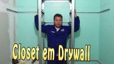 Drywall Segredos Revelados Parte 4 Closet