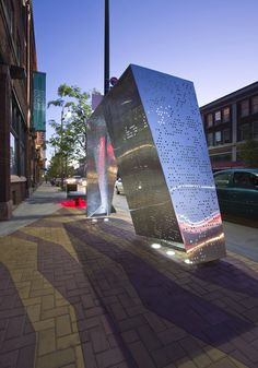 Gordon Square Bus Shelters   Robert Maschke Architects   Archinect