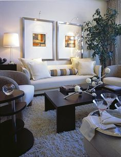 Classic Contemporary Living Room Paint, Living Room White, Living Room  Sofa, Living Spaces