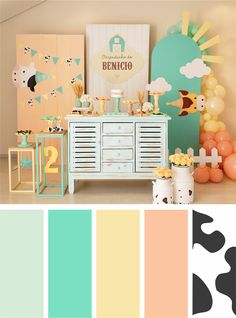 Baby Decor, Aurora, Home Decor, Soothing Colors, Light Colors, Tropical Party, Teacup Pigs, Decoration Home, Baby Deco