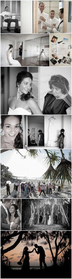 North Stradbroke Island beach wedding just perfect <3