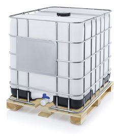 02e48a188109 IBC Container 1 Long Term Water Storage