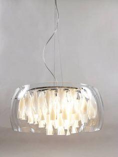 Ikea Regolit Unique Pendant Lamp Shade Lampshade 45cm White