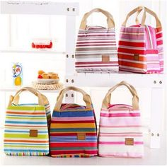Cooler Lunch Box Bag Tote 2016 New Fashion Portable Insulated Oxford Thermal Food Picnic For Women Kids Men