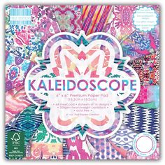 First Edition Kaleidoscope Paper Pad 6 X 6 Inches 64 Pack | Hobbycraft
