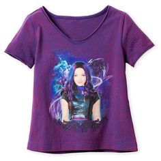 """/""""Descendants Wicked World/"""" Personalized T-Shirt and Pink Tutu Set NEW"""