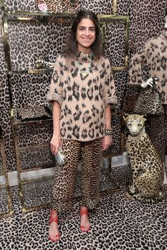 a VIP celebration of our pop-up in partnership with man repeller with friends, bubbly and lots of leopard. Leandra Medine, Animal Print Fashion, Fashion Prints, Leopard Fashion, Moda Animal Print, Animal Prints, Man Repeller, 90s Fashion, Fashion Tips