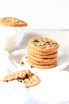 Chocolate Chip Cookies | The Cupcake Confession, August 2014