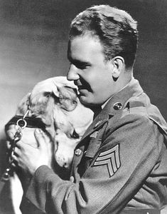 Guide Dogs for the Blind was founded in 1942 to aid blinded servicemen returning from World War II. The first veteran to graduate from the program was Sgt. Leonard Foulk, who was paired with a Guide Dog named Blondie.