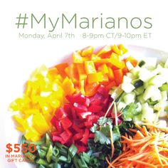 Join Me At #MyMarianos Twitter Party 4/7 9:00 PM EST - http://mythoughtsideasandramblings.com/2014/03/28/join-mymarianos-twitter-party-47-900-pm-est/