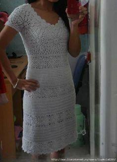 Fabulous crochet dress