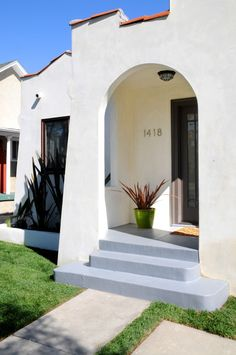 Modern take on a Spanish style home in Silver Lake