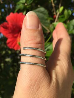 Gems Of Gold - Sterling Silver Coil Thumb Ring,(http://www.gemsofgold.com/sterling-silver-coil-thumb-ring/)