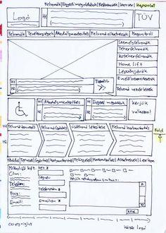website sketches