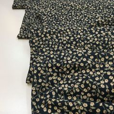 Cotton Lawn Fabric, Air Force Blue, Ditsy Floral, Blue Backgrounds, Dressmaking, Yarns, Crisp, Weave, Print Patterns