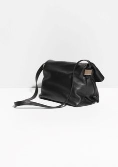 & Other Stories | Fold-Over Leather Crossbody