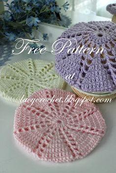 Baby/Toddler Berets, Free Crochet Pattern
