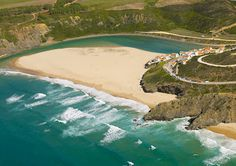#Beach Praia de Odeceixe, Algarve, Portugal | via http://blog.turismodoalgarve.pt