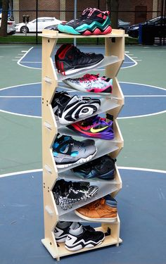 Shoe storage / shoe display from Solestacks.com