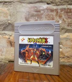 Vintage Game Boy Game • 1991 Castlevania Dracula Densetsu II • Castlevania II: Belmont's Revenge Game • NES Gameboy Cart Konami Japan Import