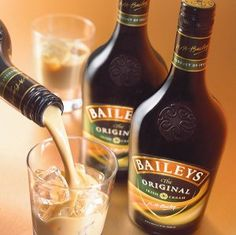 Baileys Irish Cream plus milk, Sluuurrpp...