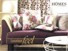 Luxurious feel with Plain textured floral #Furnishings, works like #Magic to your #HomeDecor. Explore more on www.homesfurnishings.com #HomeFabrics #Cushions #Curtains #UPholstery #HomesFurnishings #FineFabric #TGIF
