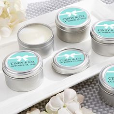 Bride & Co. Personalized Travel Candle