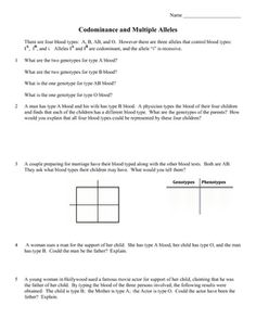 This Product Is A 3 Page Practice Problem Worksheet On Pedigree