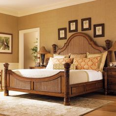 Classical look, very elegant!  Island Estate Round Hill Bed