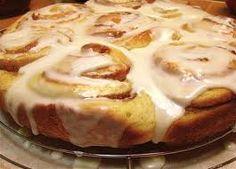 Warm cinnamon rolls.