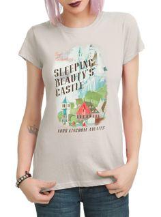 Disney Sleeping Beauty Castle Girls T-Shirt | Hot Topic