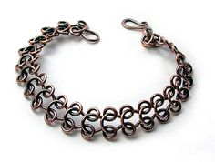 Lock and Roll chain by barb Switzer  bead and button class