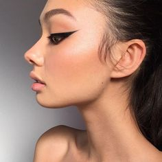 """The first time I posted something from this look on @bhollitt someone commented saying the eyeliner """"could cut a bitch"""" I feel like that could forever be one of my favourite compliments ✂"""