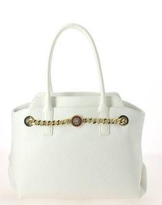 a9a47fd011 Sac épaule VERSACE JEANS Blanc. Ce sac à main Versace Jeans est muni d'une  double anse pour être porté à la main ou court à l'épaul... Forum des sacs